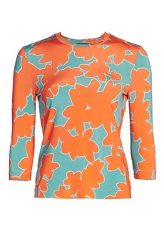 Stine Goya May Abstract Floral Top