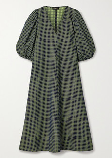 Stine Goya Net Sustain Mavelin Jacquard Midi Dress
