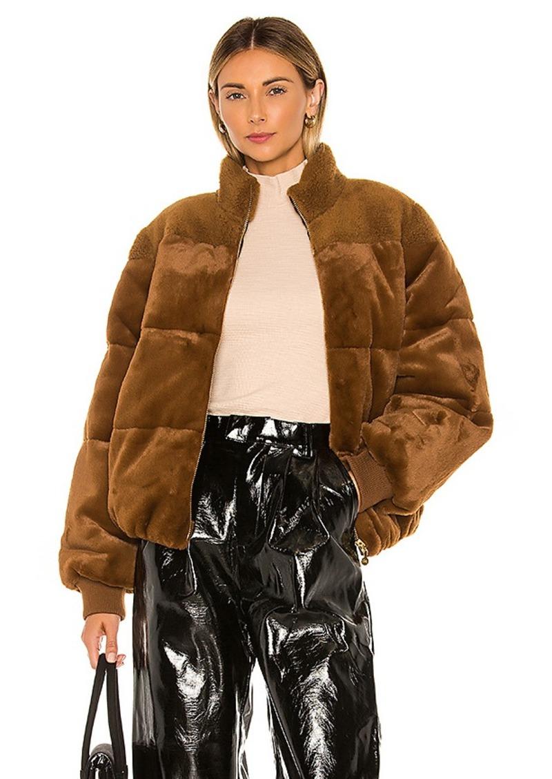 Stine Goya Aria Faux Fur Jacket