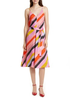 STINE GOYA Gianna A-Line Silk Dress