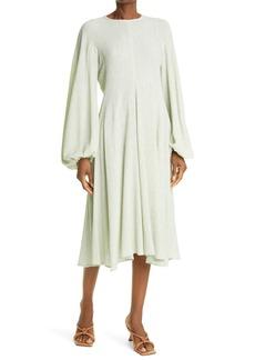 Stine Goya Inga Crinkled Long Sleeve Dress