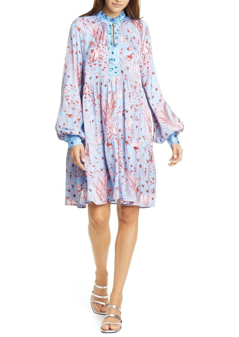 Stine Goya Jasmine Tiered Long Sleeve Dress