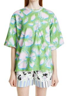 Stine Goya Katalina Allover Print Organic Cotton T-Shirt