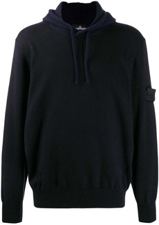 Stone Island two-tone hoodie