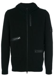 Stone Island asymmetric pocket hoodie