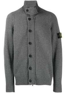 Stone Island button-down cardigan
