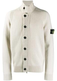 Stone Island button-up knit cardigan