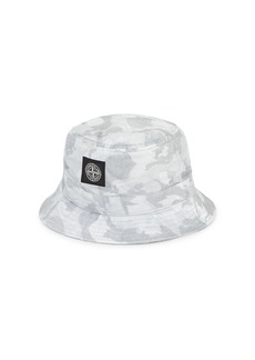 Stone Island Camouflage Bucket Hat
