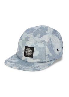 Stone Island Camouflage Denim Baseball Cap