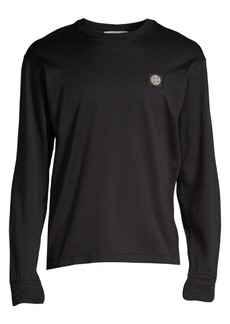 Stone Island Classic-Fit Logo Cotton Tee