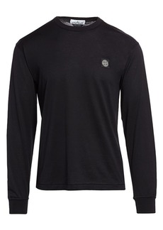 Stone Island Classic-Fit Logo Cotton T-Shirt