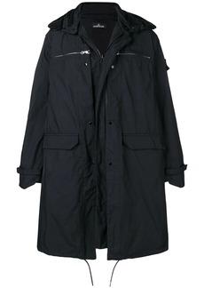 Stone Island classic parka coat
