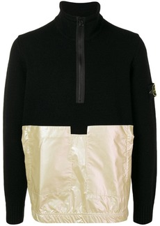 Stone Island colour-block sweatshirt