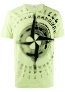 Stone Island compass print T-shirt