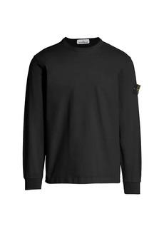 Stone Island Core Long-Sleeve Heavy Jersey T-Shirt