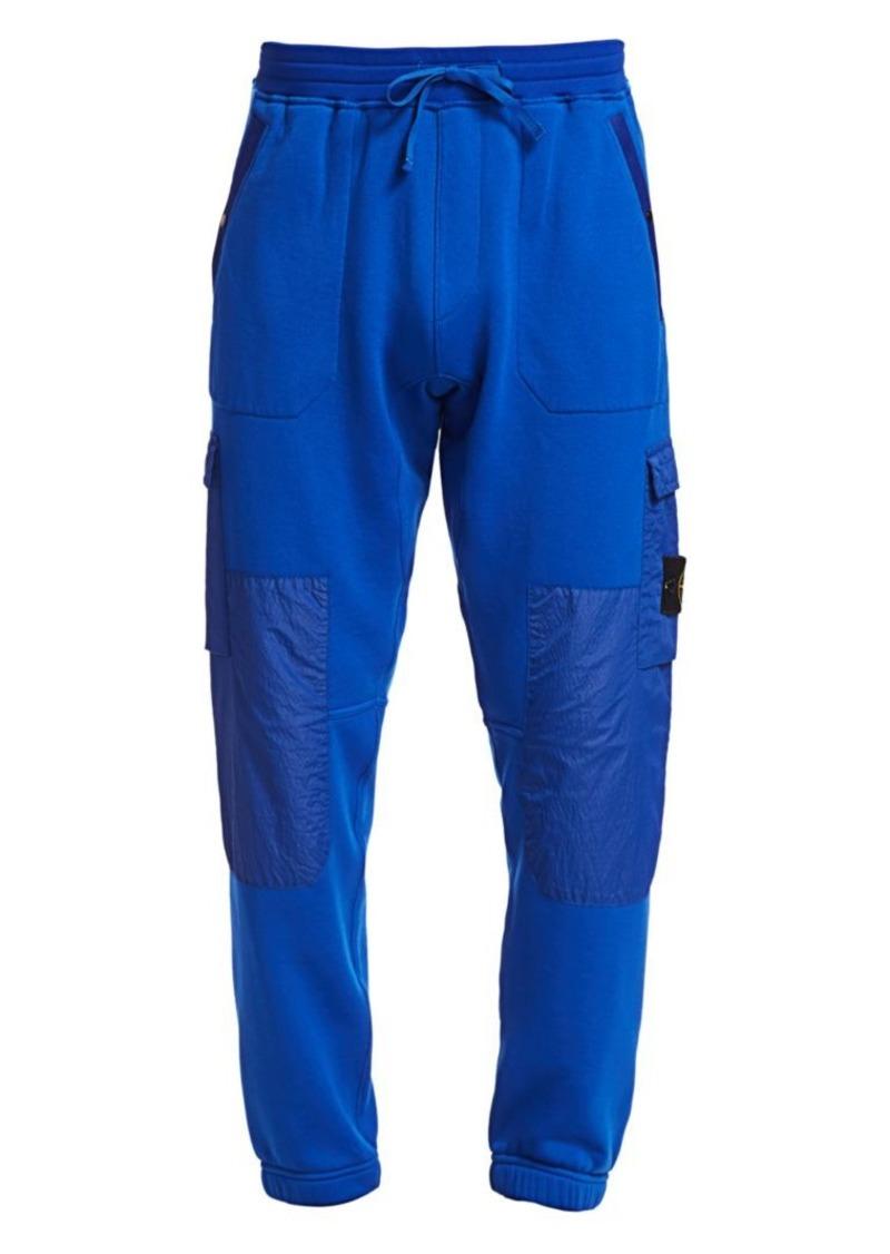 Stone Island Cotton Fleece Cargo Pants