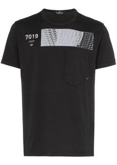 Stone Island CXADO 7019 print cotton T-Shirt
