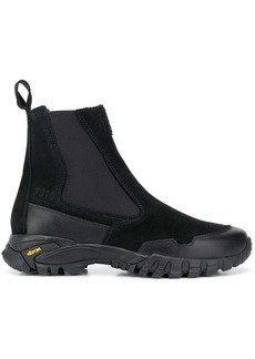 Stone Island elasticated side panel boots
