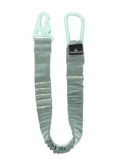 Stone Island elasticated-strap hook keyring