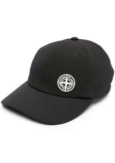 Stone Island embroidered logo baseball cap