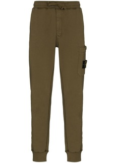 Stone Island garment-dyed track pants