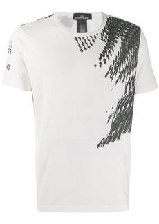 Stone Island geometric print T-shirt