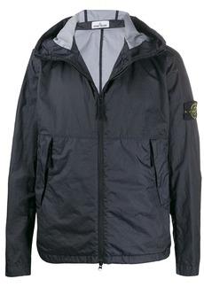 Stone Island hooded lightweight jacket