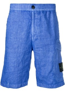 Stone Island knee length chino shorts