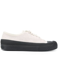 Stone Island lace-up low-top sneakers
