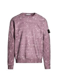 Stone Island Laser Camo Crewneck Sweatshirt