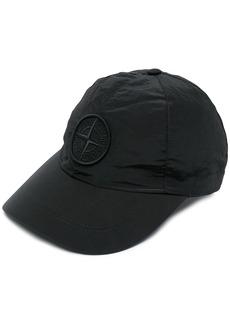 Stone Island logo-embroidered cap