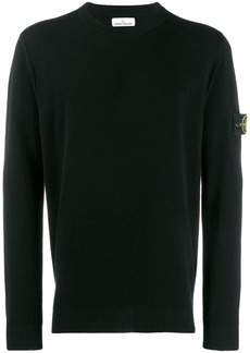 Stone Island logo patch sweater