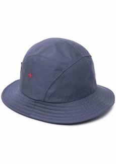 Stone Island logo-print bucket hat