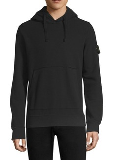 Stone Island Logo Pullover Hoodie