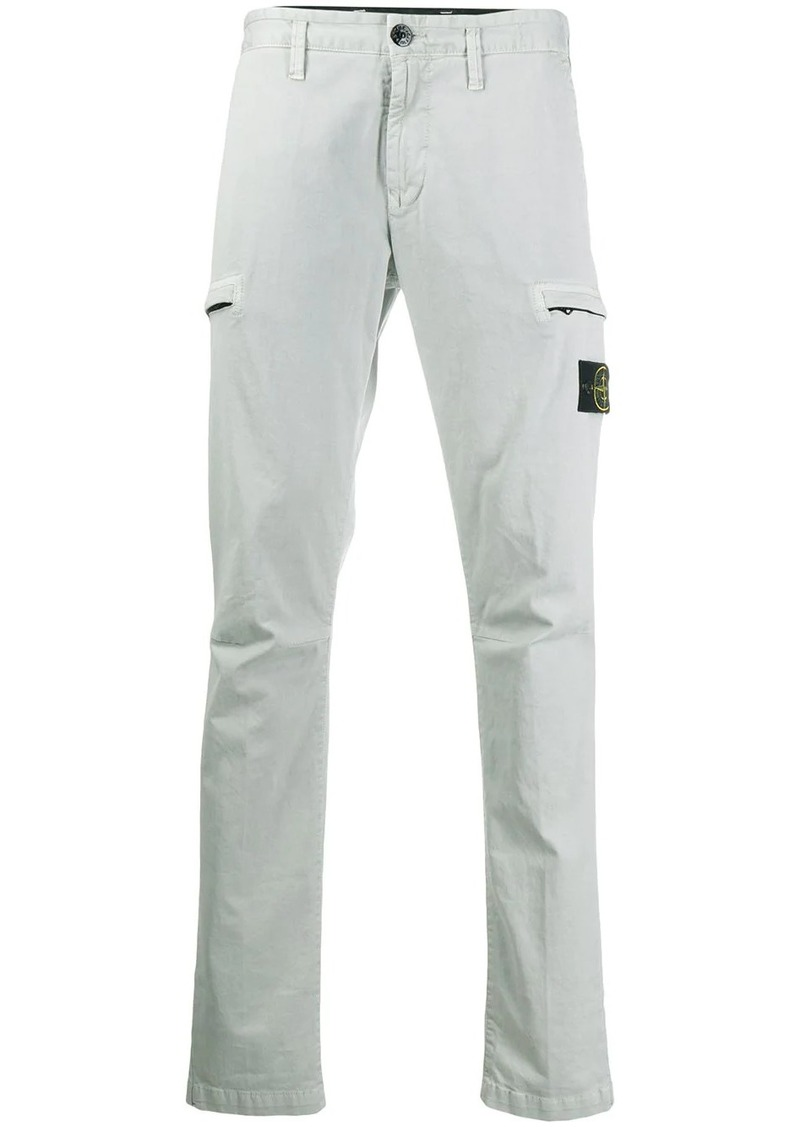 Stone Island loose fit cargo trousers