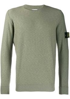 Stone Island marled knitted jumper