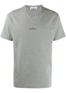 Stone Island micro logo print T-shirt