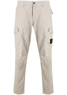 Stone Island multi-pocket cotton trousers