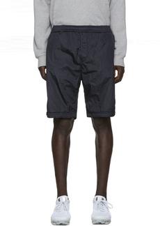 Stone Island Navy Nylon Metal Bermuda Shorts