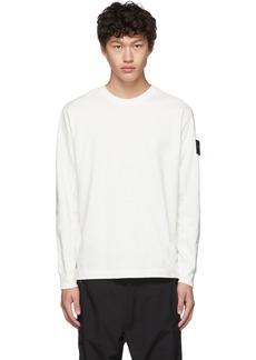 Stone Island Off-White Crewneck T-Shirt