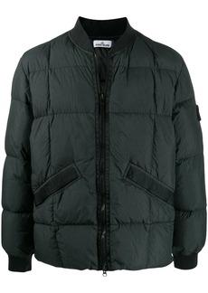 Stone Island padded bomber jacket