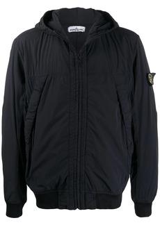 Stone Island padded hooded jacket