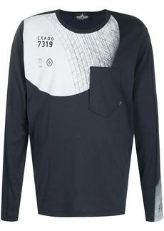 Stone Island patch pocket sweatshirt