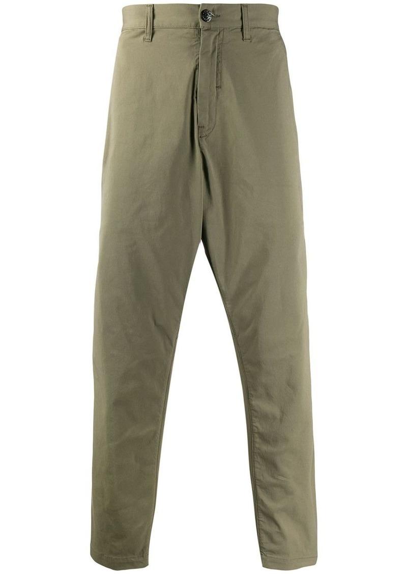 Stone Island plain casual trousers