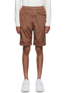 Stone Island Red Bermuda Shorts