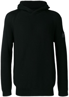 Stone Island ribbed hooded jumper