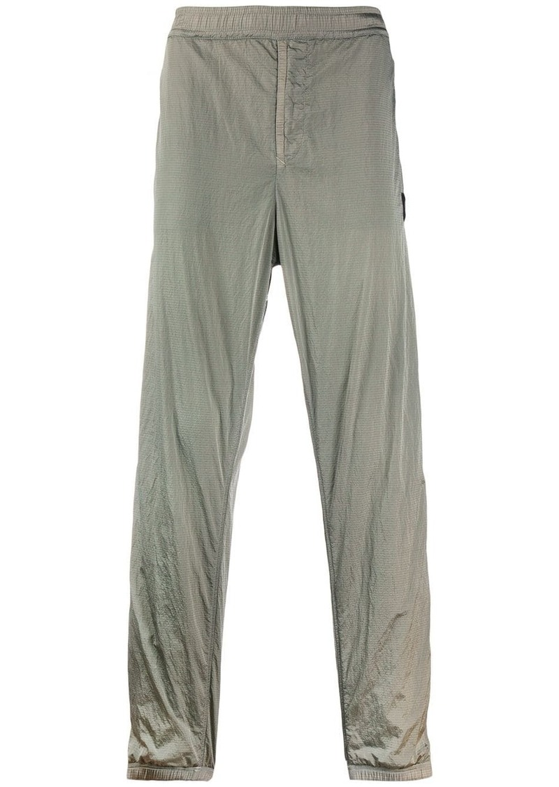 Stone Island ruched waistband trousers