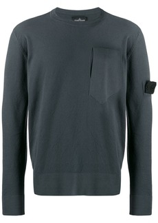 Stone Island slit pocket sweater