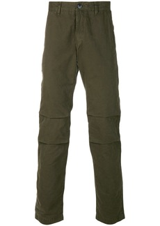 Stone Island articulated knee chino trousers - Green
