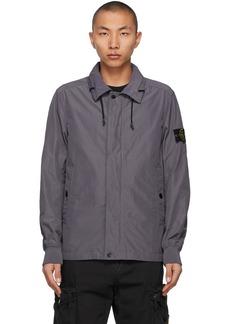 Stone Island Blue Micro Reps Jacket